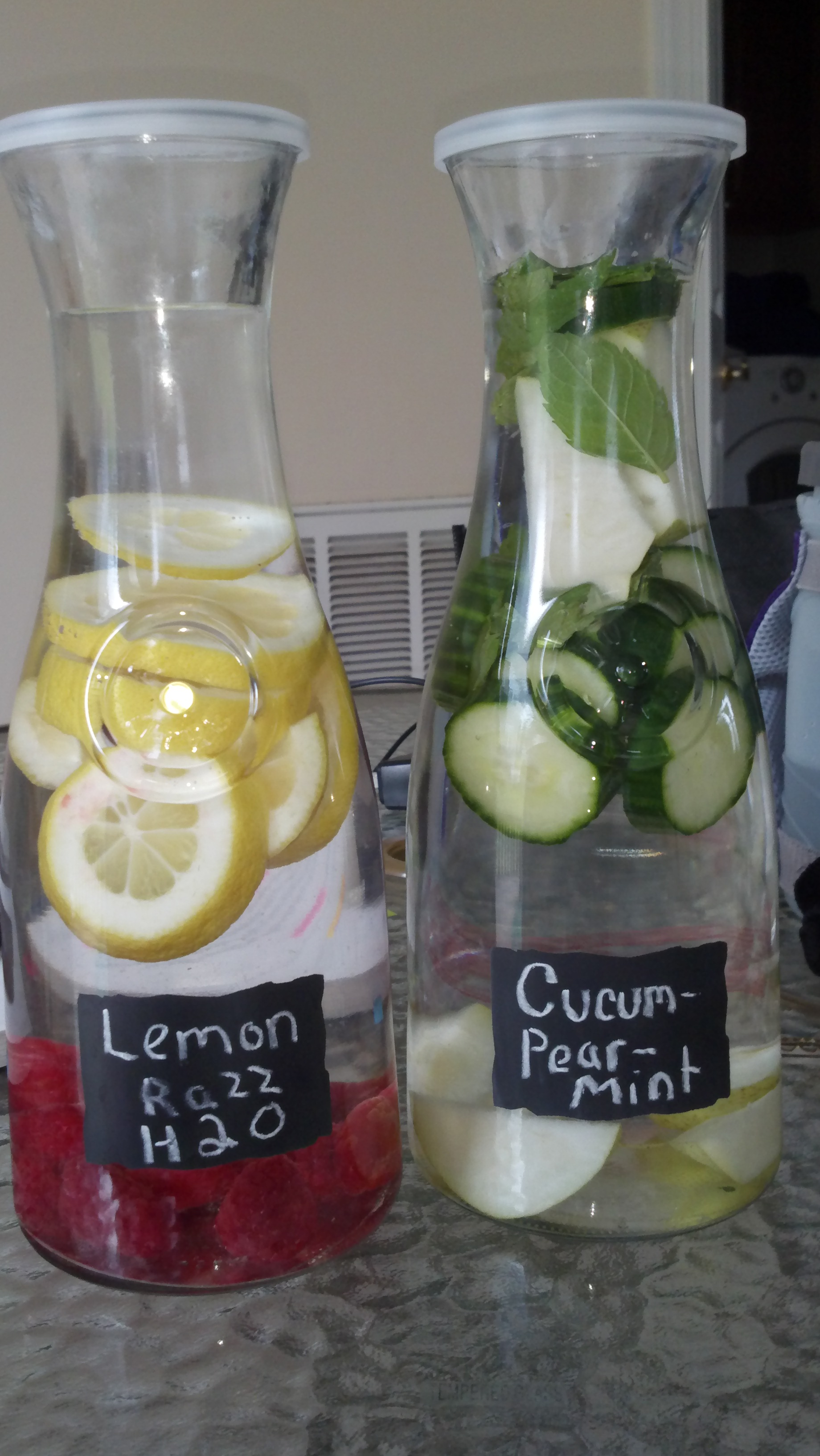 flavored water Instead of flavoring your water with unnatural chemicals, make all natural fruit  flavored water quickly in your own kitchen so easy and refreshing.
