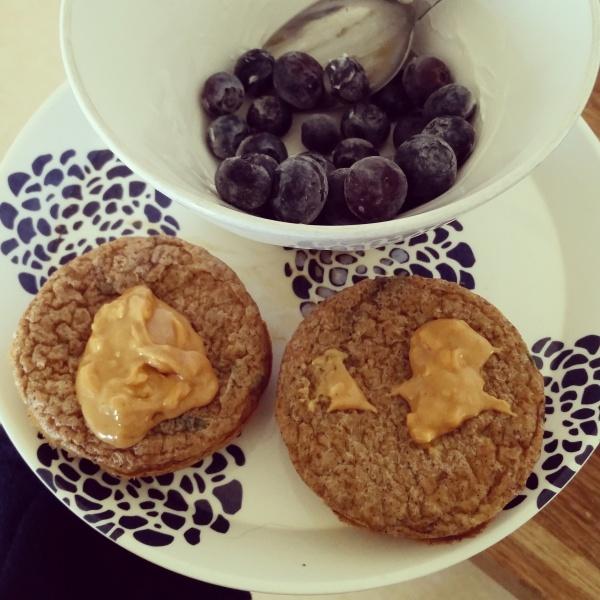 Sweet Potato Muffins w PB