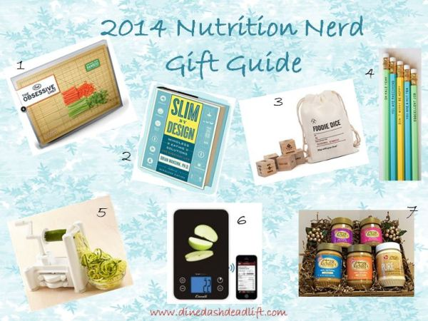2014 Nutrition-Themed Gift Guide